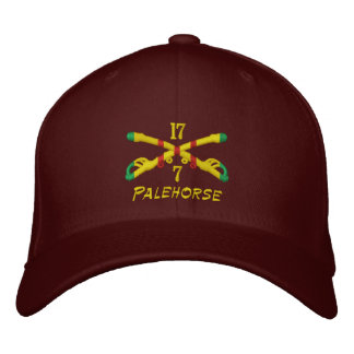 Vietnam Cavalry Crossed Sabers Embroidered Hat