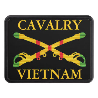 Vietnam Cavalry Crossed Sabers Hitch Cover