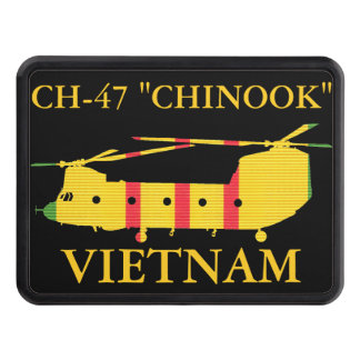 "Vietnam CH-47 ""Chinook"" Hitch Cover"