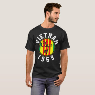 Vietnam Class Of 1968 Veteran Tshirt