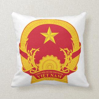 Vietnam Coat Of Arms Pillow