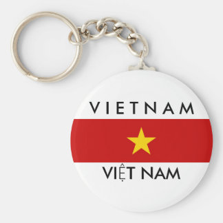 vietnam country flag name text symbol keychain