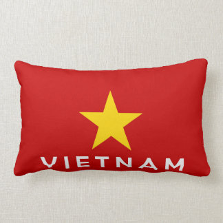 vietnam country flag symbol name text throw pillows