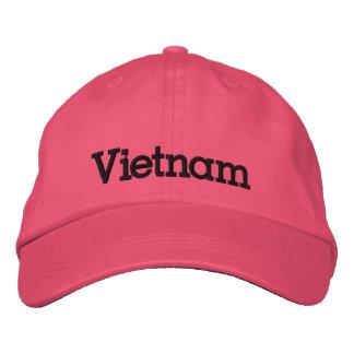 Vietnam Custom Embroidered Baseball Hat