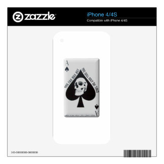 Vietnam Death Card Skin For The iPhone 4