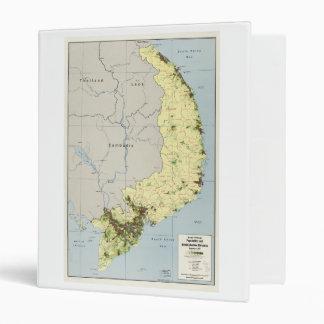"""Vietnam del sur mapa septiembre de 1972 carpeta 1"""""""