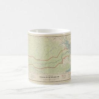 Vietnam Demarcation Line & Demilitarized Zone 1957 Coffee Mug