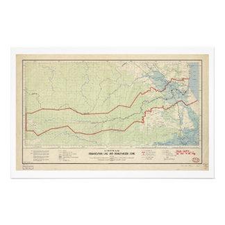 Vietnam Demarcation Line & Demilitarized Zone 1957 Stationery
