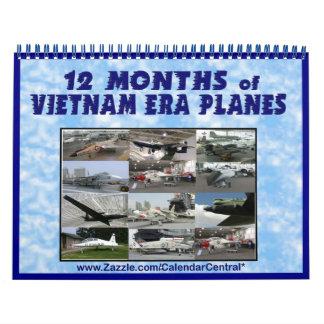 Vietnam Era Planes Calendar