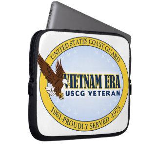 Vietnam Era Vet - Coast Guard Computer Sleeve