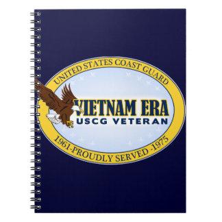 Vietnam Era Vet - Coast Guard Notebook