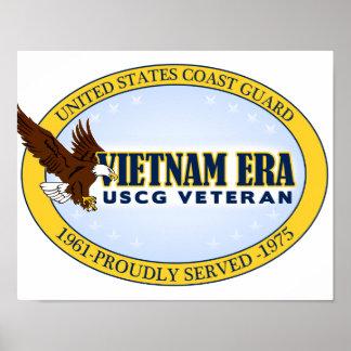 Vietnam Era Vet - Coast Guard Poster