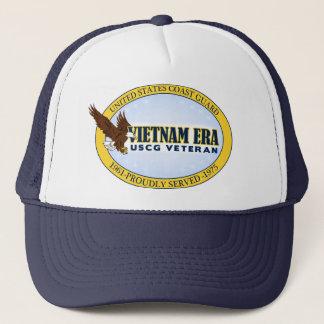Vietnam Era Vet - Coast Guard Trucker Hat
