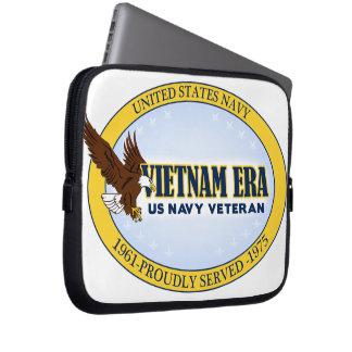 Vietnam Era Vet - Navy Computer Sleeve