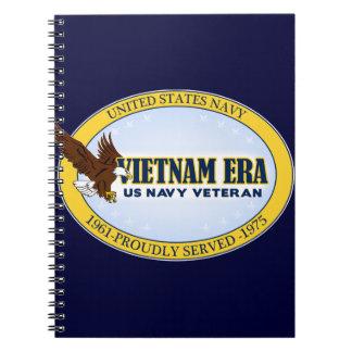 Vietnam Era Vet - Navy Notebook