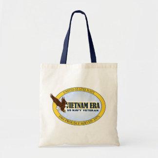 Vietnam Era Vet - Navy Tote Bag