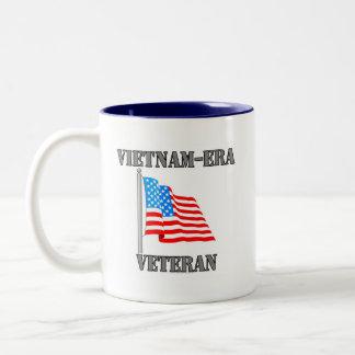 Vietnam-era Veteran Two-Tone Coffee Mug