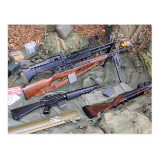 Vietnam Era Weapons & Gear Postcard