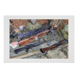 Vietnam Era Weapons & Gear Poster