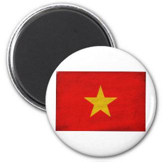 Vietnam Flag 2 Inch Round Magnet