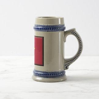Vietnam Flag Beer Stein