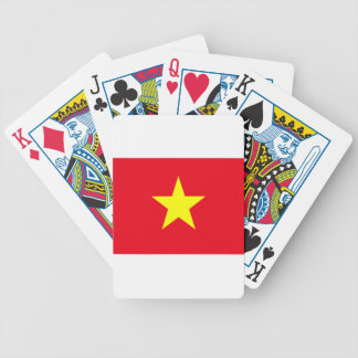 Vietnam Flag Bicycle Playing Cards