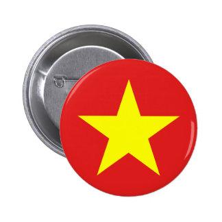 Vietnam Flag - Button