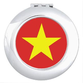 Vietnam Flag - Compact Mirror