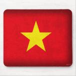 Vietnam Flag Distressed Mousepad