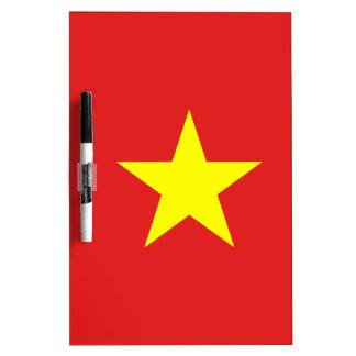 Vietnam Flag - Dry Erase Board