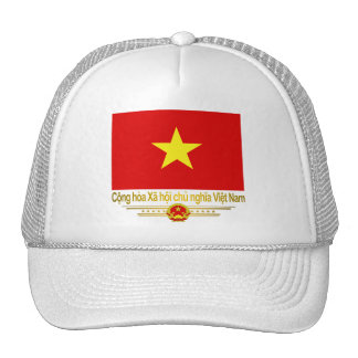 Vietnam Flag Trucker Hat