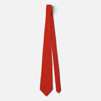 Vietnam Flag Honeycomb Tie
