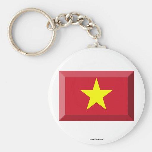 VietNam Flag Jewel Key Chains