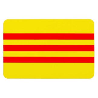 Vietnam Flag (new) Rectangular Photo Magnet