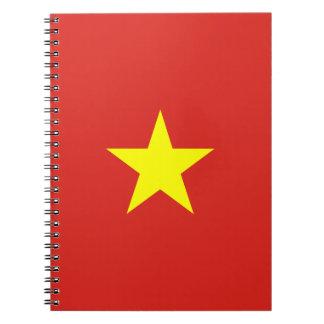Vietnam Flag Notebook