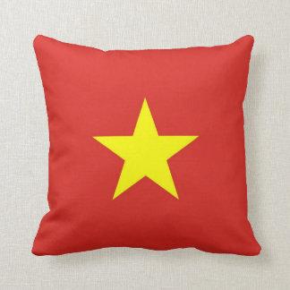 Vietnam Flag on American MoJo Pillow