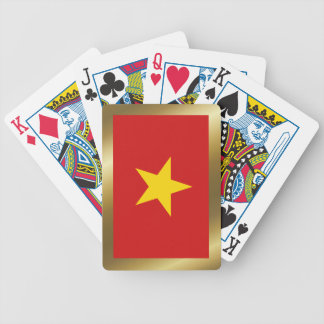 Vietnam Flag Playing Cards