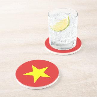 Vietnam Flag  Round Coaster