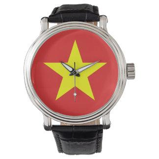 Vietnam Flag - Watch