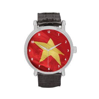 vietnam flag watches