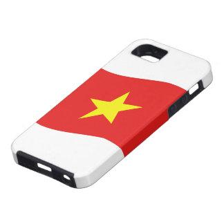 Vietnam Flag Wave Cover Skin Case