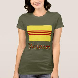 Vietnam Flag & Word Pre-1974 T-Shirt