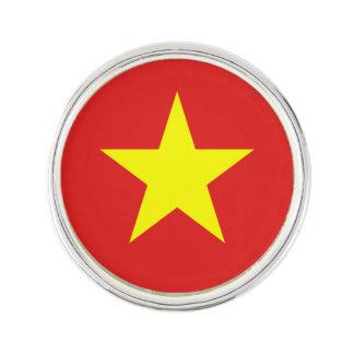 Vietnam Flag - Yellow Star - Lapel Pin