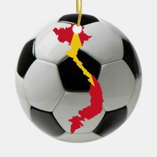 Vietnam football soccer ornament