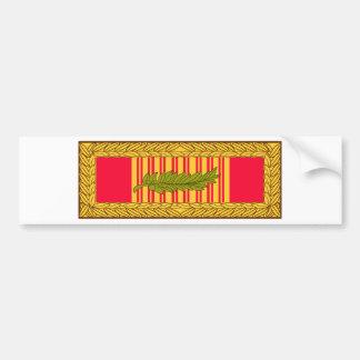 Vietnam  Gallantry Cross Ribbon Bumper Sticker