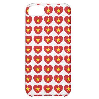 Vietnam Heart Flag iPhone 5C Cases