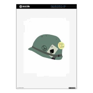 Vietnam Helmet Decal For iPad 2