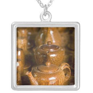 Vietnam, Ho Chi Minh City aka Saigon). Thoi Silver Plated Necklace
