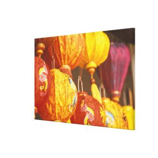Vietnam, Hoi An Large lanterns, souvenirs Canvas Print