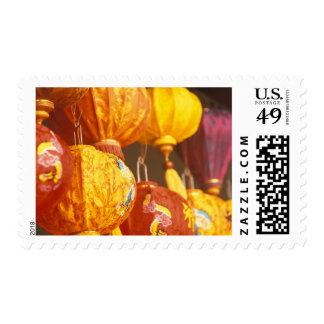 Vietnam, Hoi linternas grandes, recuerdos Timbre Postal